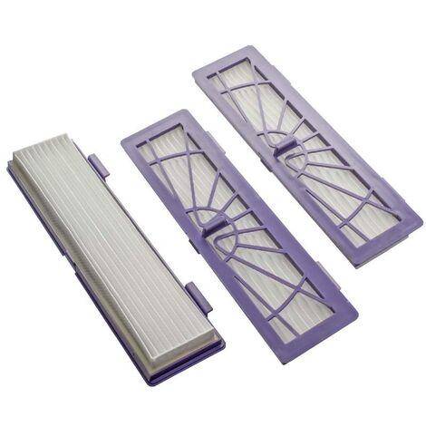 vhbw Filtre allergie de rechange Hepa Set violet pour Neato Botvac D3, D5