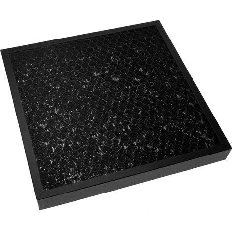 vhbw filtre compatible avec DeLonghi AC 100, AC 150 humidificateur épurateur d'air - combiné charbon actif HEPA