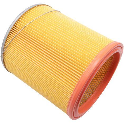 vhbw filtre d'aspirateur pour Tefal 468000, 468000_FR FR, 468010, 468010 IT, 468100, Bully Laveur, Collecto aspirateur filtre rond plissé