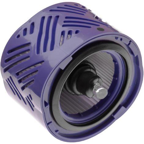 vhbw filtre d'aspirateur compatible avec Dyson DC58, DC59, DC62, DC74, SV09, V6, V6+ aspirateur filtre après moteur HEPA