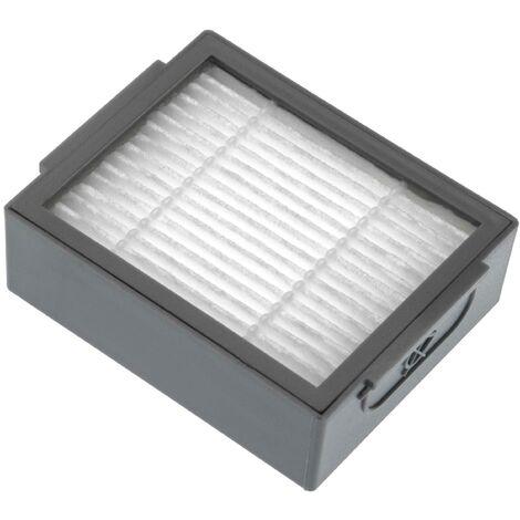 vhbw Filtre d'aspirateur compatible avec iRobot Roomba E5, E6, E7, i7, i7+, i7 Plus aspirateur - filtre HEPA