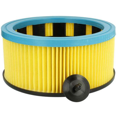 vhbw Filtre d'aspirateur compatible avec Metabo AS 1200, AS 20 L, ASA 1201, ASA 1202, ASA 32 L aspirateur; filtre plissé, classe M