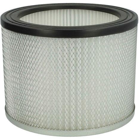 vhbw filtre d'aspirateur compatible avec Rowi RAS 800/18/1 Inox aspirateur; filtre plissé