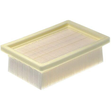 vhbw filtre d'aspirateur remplace Metabo 630175000 filtre pour aspirateur; filtre HEPA/à plis plats