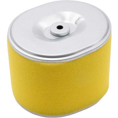vhbw Filtre de rechange avec préfiltre remplace Honda 17218-ZE3-000, 17218-ZE3-505, AF-ZE 30 pour tondeuse à gazon - 10,2 x 9,1 x 7,7cm