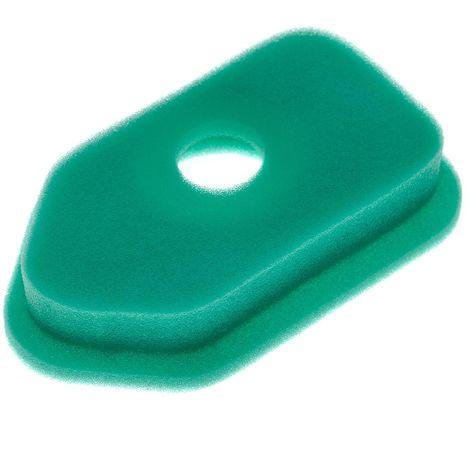 vhbw Filtre de rechange en mousse compatible avec Briggs & Stratton 10A902-1618-B1, 10A902-1618-E1 motor per tondeuse à gazon; 15,3 x 9,1 x 2,9cm