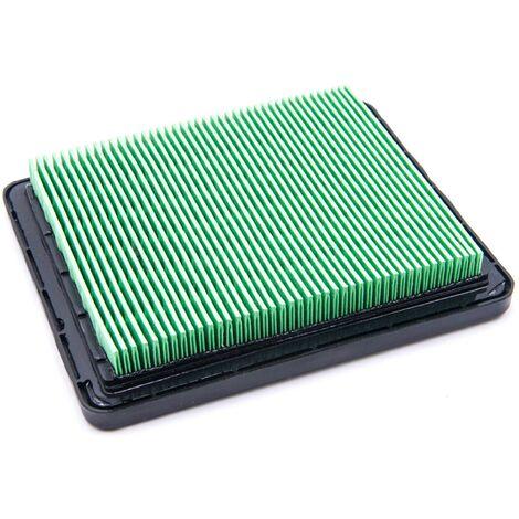 vhbw Filtre de rechange en papier remplacement pour Honda 17211-ZE8-000, 17211-ZL8-000, 17211-ZL8-003 pour tondeuse à gazon - 3 x 11 x 1,9cm