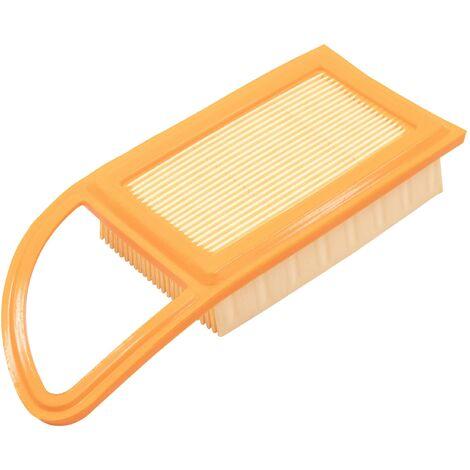 vhbw Filtre remplacement pour Stihl 4282 141 0300, 42821410300 pour souffleur de feuilles, souffleur à dos filtre à air