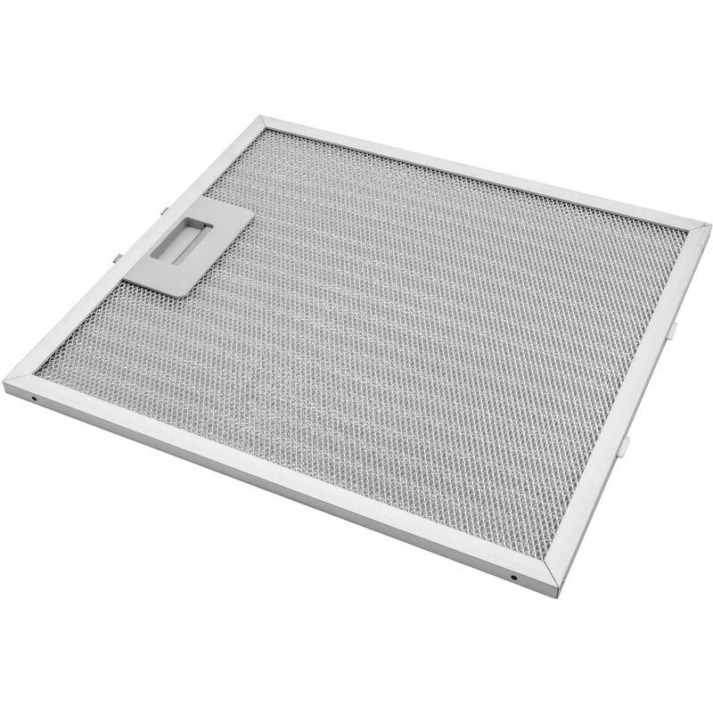 Vhbw Filtrepermanent filtre à graisse métallique 30,6 x 27,8 x 0,85 cm remplacement pour AEG 50288851004 hottes de cuisinière métal