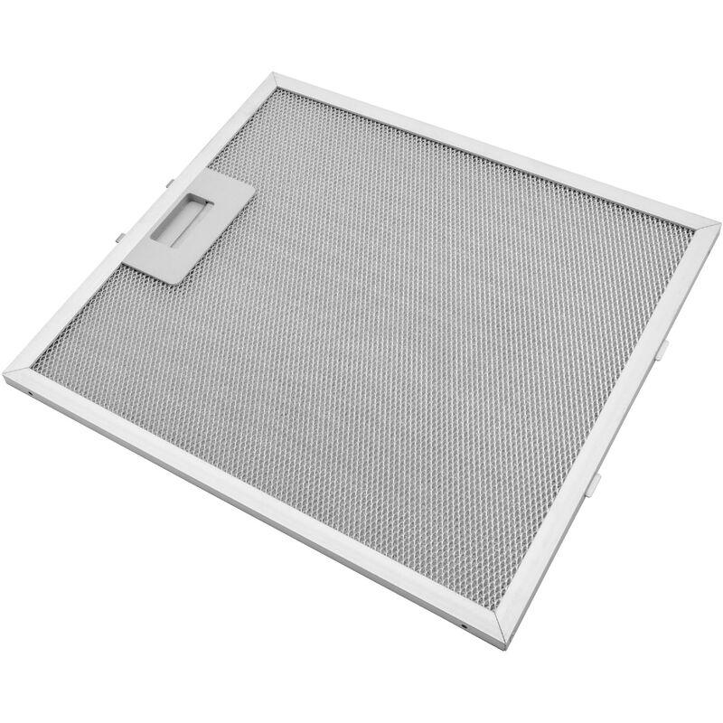 Filtrepermanent filtre à graisse métallique 30,7 x 27,8 x 0,85cm convient pour Whirlpool AKR 886/GY 857888601000 hottes de cuisinière métal - Vhbw