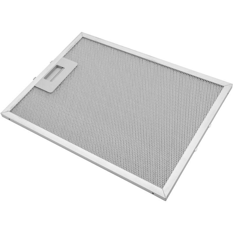 Vhbw Filtrepermanent filtre à graisse métallique 32,8 x 24,7 x 0,9 cm convient pour Alno AEF3800A 94264094600 hottes de cuisinière métal