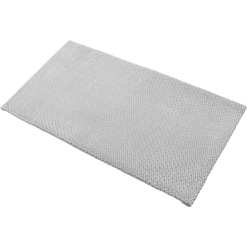 Vhbw Filtrepermanent filtre à graisse métallique 36,6 x 20,1 x 6 cm convient pour AEG DGB2530M 94215055600 hottes de cuisinière métal