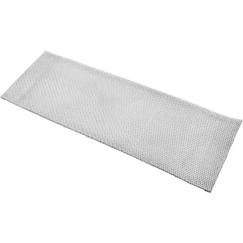 Vhbw Filtrepermanent filtre à graisse métallique 43,5 x 14,8 x 0,5 cm convient pour Juno LeMaitre JDA 3830 E hottes de cuisinière métal