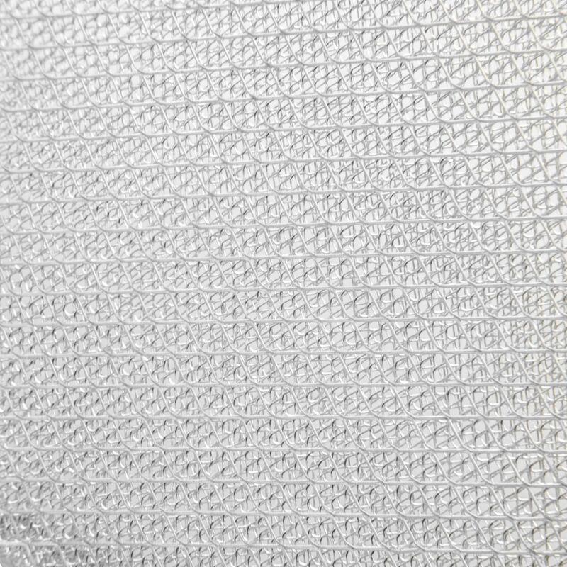 Vhbw Filtrepermanent filtre à graisse métallique 45,2 x 16 x 0,35 cm remplacement pour Bauknecht 481948048232 hottes de cuisinière métal