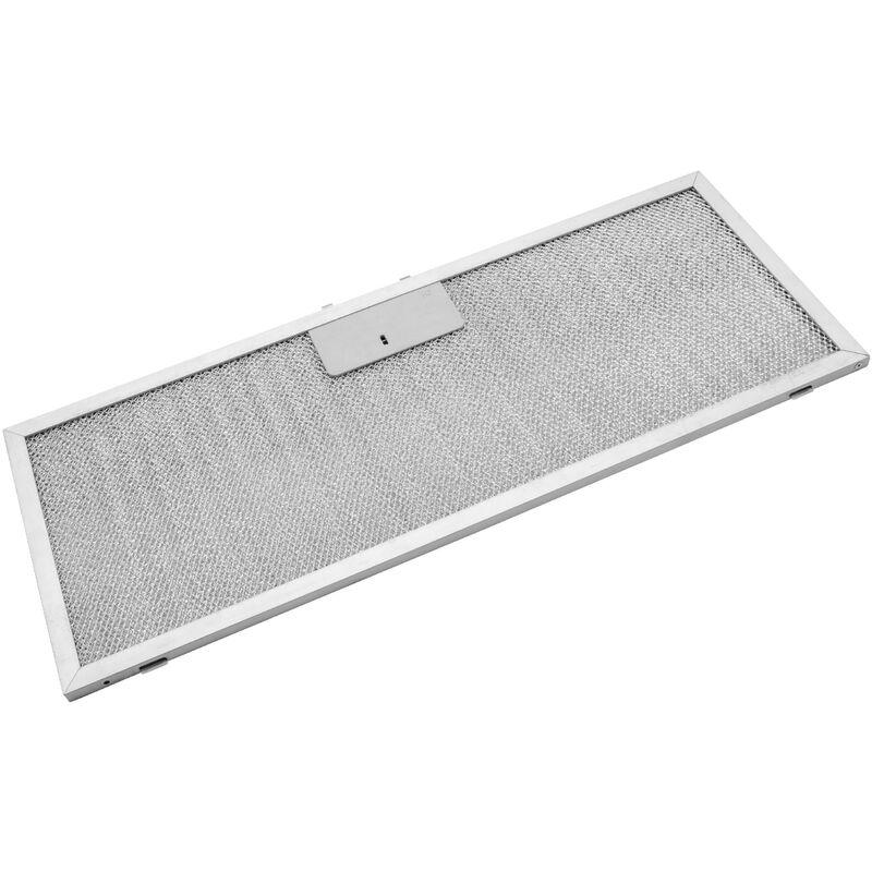 Filtrepermanent filtre à graisse métallique 45,9 x 17,7 x 0,85 cm convient pour Bauknecht DLHI 5360 857453401052 hottes de cuisinière métal - Vhbw