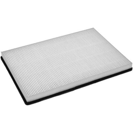 vhbw filtres à air F7 remplace Helios 00038 pour Ventilateur de salle de bain, appareil de ventilation (filtre à pollen)