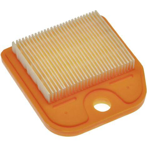 vhbw Filtro, (1x filtro de aire de papel) compatible con Stihl HS 81, HS 81 R, HS 81 RC, HS 81 T, HS 81 TC, HS 82, HS 82 R, HS 82 RC cortasetos