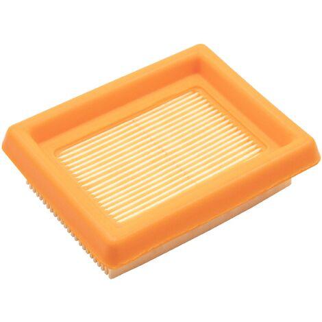 vhbw Filtro compatible con Stihl BT120, FR350, FR450, FS120, FS200, FS250, FS300, FS350 barreno o desbrozadora; 8,8 x 7,1 x 2,5 cm filtro de aire