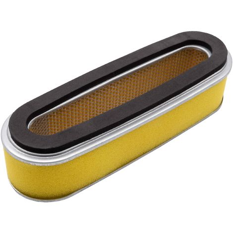 vhbw filtro con prefiltro de repuesto como Honda 17211-888-013, 17218-ZE6-505 para cortacésped; 18,7 x 6,2 x 5cm