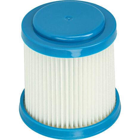 vhbw filtro de aspirador compatible con Black & Decker FEJ520JF, FEJ520JFS, SVJ520BFS filtro HEPA/plisado plano
