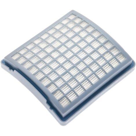 vhbw filtro de aspirador compatible con Miele S143 Electronic 1200, S143 Geos Marmi & Piastrelle, S143 Mondia 1200 filtro de escape HEPA