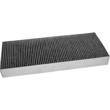 vhbw Filtro de carbon activado reemplaza Bosch 11018621, DSZ4681 para Campana extractora fibras de carbono