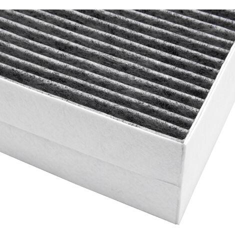 vhbw Filtro de carbón activo adecuado para campanas extractoras de humo Siemens LC97BA552/01, LC97BA552/02, LC97BB520/01, LC97BB520/02, ...