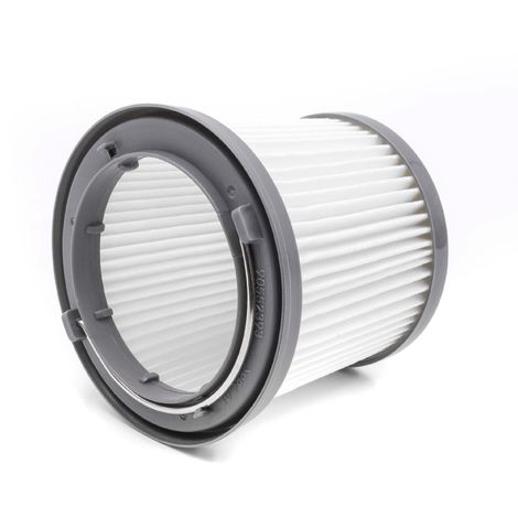 vhbw Filtro de cartucho para aspiradora Black & Decker Dustbuster Pivot PD1820LF, PV1210, PV1225, PV1225NB, PV1225NPM, PV1410