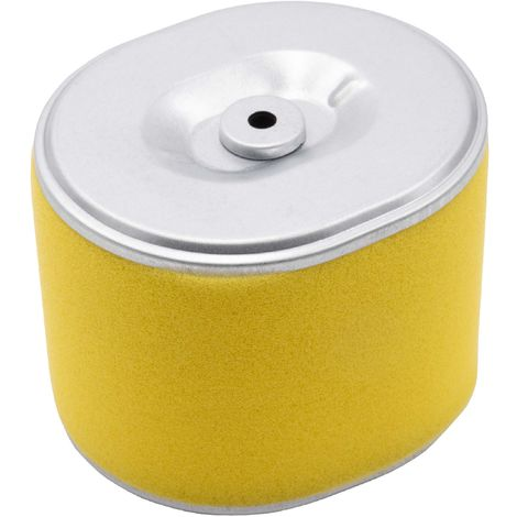 vhbw filtro de repuesto con prefiltro reemplaza Honda 17210-ZE3-000, 17210-ZE3-010, 17210-ZE3-505 para cortacésped - 10,2 x 9,1 x 7,7cm