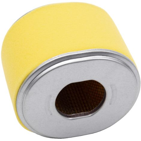 vhbw filtro de repuesto con prefiltro reemplaza Honda 17218-ZE2-505, 17218-ZE2-821 para cortacésped - 10,2 x 9 x 7,7cm