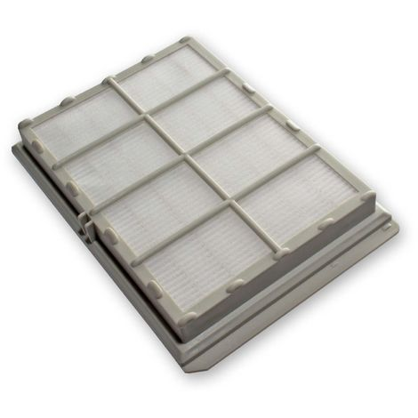 vhbw Filtro de salida de aire Hepa de recambio para alérgicos para aspiradoras Siemens Power Edition Evolution 1800W