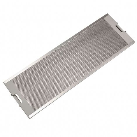 vhbw Filtro Permanente metálico para grasa compatible con Miele DA 262 I, DA 263 I, DA 263 I EXT Campana extractora metal