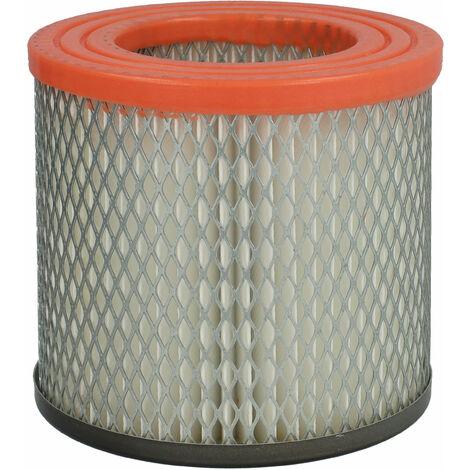 vhbw Filtro plisado compatible con Güde GA 18 L, GA18L 1200W aspiradora en seco y mojado - Filtro, cartucho