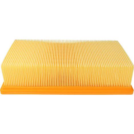 vhbw Filtro plisado plano compatible con Hilti VC 20 U, VC 40 U, VC 40 UM, VC 20 UM; aspiradoras