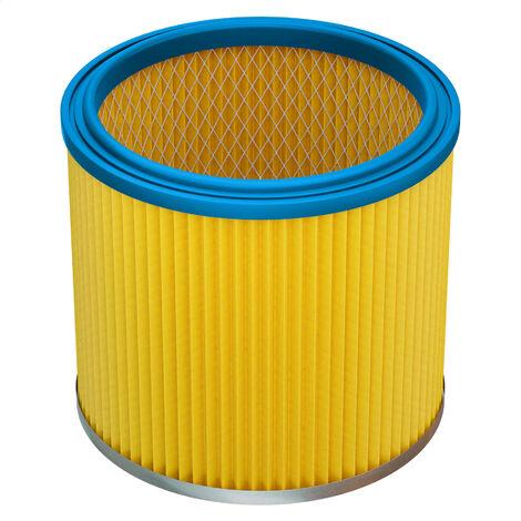 vhbw Filtro redondo / filtro laminarr para aspiradora Mauk NTS 20, NTS 30l 1200W, NTS 20l 1200W