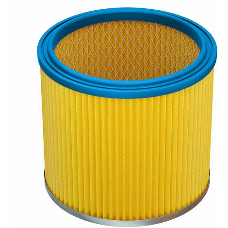 vhbw fitre rond / filtre à lamelles pour aspirateur compatible Aldi Workzone aspirateur à liquide, nettoyeur à sec