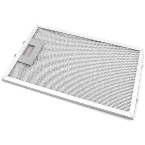vhbw grease filter for Teka CT721, CT721VR01, DG190, DG90, DG90UK, DM, DM 70, DM-70, DM-70 VR03, DM-70VR02 extractor fan aluminum