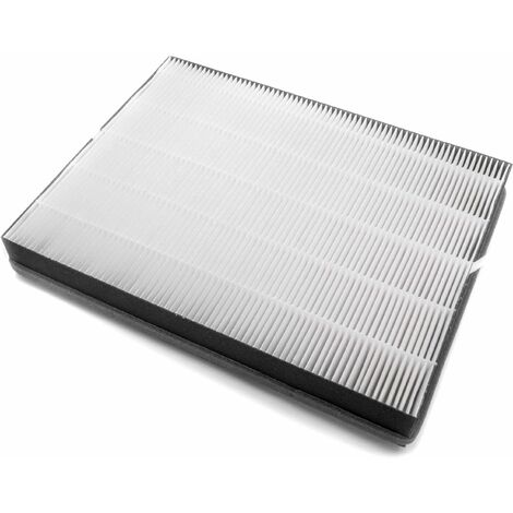 vhbw HEPA filter for air washer, air purifier Philips AC2882, AC2887, AC2889, AC3829/10