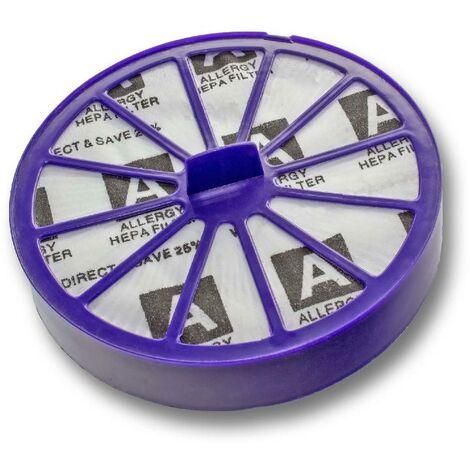 vhbw HEPA Filter für Dyson DC07 All Floors/ Animal/ Multifloor, DC14 All Floor / Animal/ Multifloor Staubsauger - Nachmotor-Filter, Post Motor-Filter