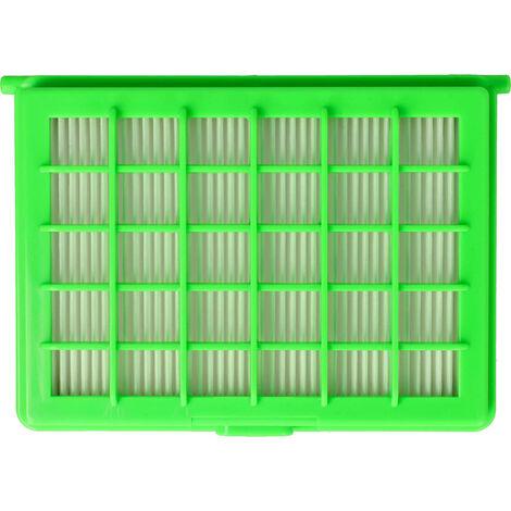 vhbw Hepa Filter für Staubsauger Rowenta Compacteo RO1767, RO1783, RO1795, RO2423, RO2451, RO5227, RO5253, RO5255 wie ZR004101, ZR004201, MT000701.