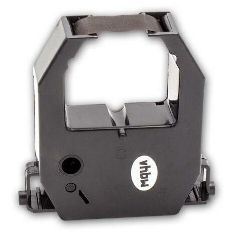 vhbw ink ribbon nylon/ink band for time clock MOA 1600, 1800, 8500, 8600, 8700, 8800, CM730, UT5600, UT6000, UT7600, UT8600 replaces CE-315250.