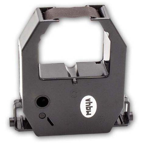 vhbw ink ribbon nylon/ink band for time clock Nideka T-7B replaces CE-315250.