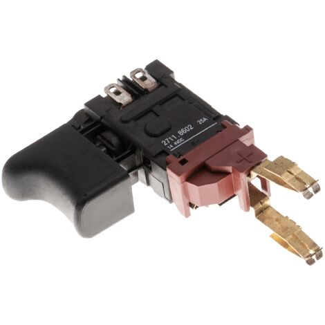 Interrupteur Avec Noir Boutons Poussoir pour marteau perforateur pour Kress 144 AFB