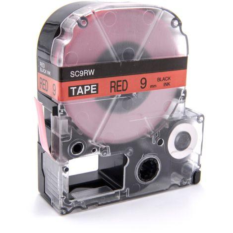 PC2 wie Dymo D1 vhbw Kassette Patronen Schriftband 24mm f/ür Dymo LabelMaker PC 53712.