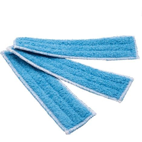 vhbw Kit de 3 paños (almohadilla de microfibra) microfibra baldosas para Thomas Multi Clean X10 Parquet Aqua+, X7 Aqua+