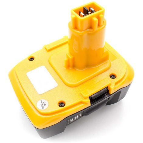 vhbw Li-Ion Akku 3000mAh (18V) passend für Elektro Werkzeug Tools Dewalt DC011, DC012, DC013, DC9180, DCD925, DCD925B2, DCD925KA, DCD925N, DE9180