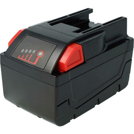 vhbw Li-Ion batería 3000mAh (28V) para herramientas Milwaukee HD28 CS batería para sierra circular etc. por 48-11-1830, 48-11-2830, 48-11-2850.