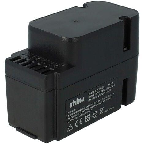 vhbw Li-Ion Batterie 1500mAh (28V) pour robot tondeuse Worx Landroid M1000 WG791E.1, M1000i WG796E.1, M500 WG754E, M800 WG790E.1 comme WA3225, WA3565.
