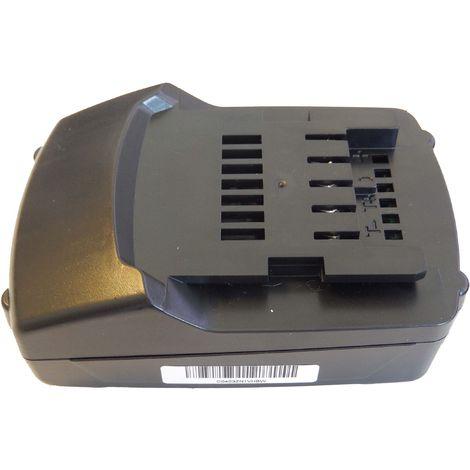 vhbw Li-Ion Batterie 1500mAh pour outils électriques Metabo ASE 18 LTX, BF 18 LTX 90, BHA 18 LT, BS 18 comme 6.25499.00, 6.25457.00, 6.25459.