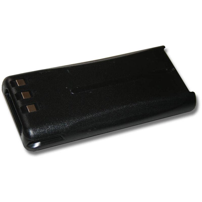 batterie remplace Kenwood KNB-45, KNB-45L, KNB-45Li pour radio talkie-walkie (2000mAh, 7,4V, Li-Ion) - Vhbw